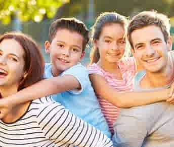 New parent financially prepared with health insurance