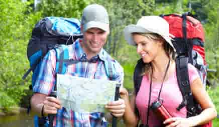 medical coverage for visitors backpacking trips