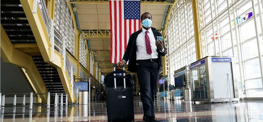 Preparing for travel to USA during corona virus