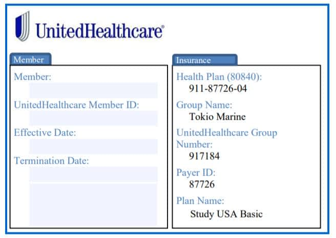 Download ID Card for Travel Insure plans for Visit USA, Study USa, WorldMed